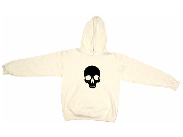 Gothic Half skull Men's Hoodie Sweat Shirt