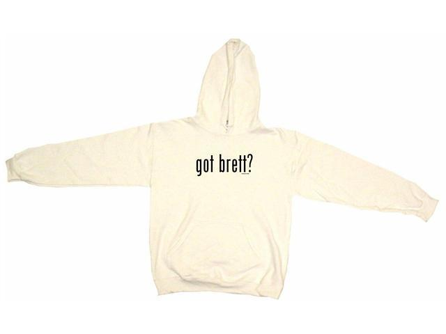 got brett? Men's Hoodie Sweat Shirt