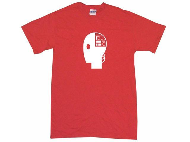 Robot Head Logo Women's Regular Fit Tee Shirt