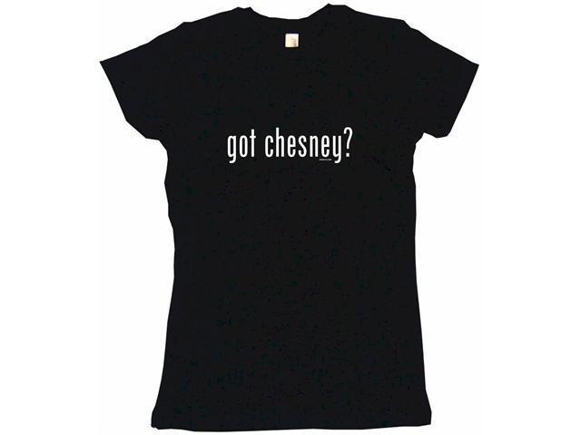got chesney? Women's Babydoll Petite Fit Tee Shirt