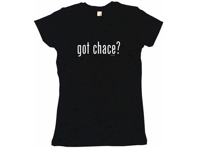 got chase? Women's Babydoll Petite Fit Tee Shirt