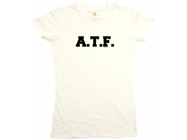 A. T.F. Women's Babydoll Petite Fit Tee Shirt