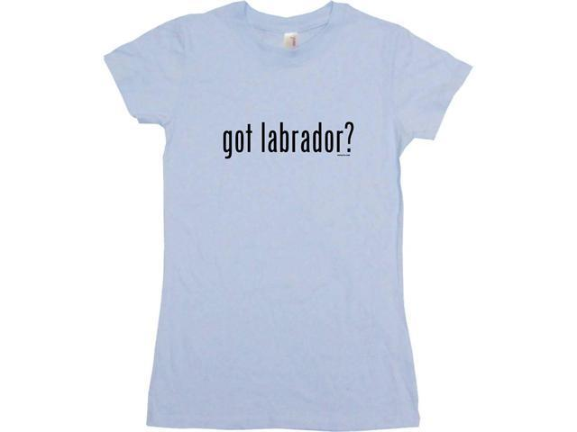 got labrador? Women's Babydoll Petite Fit Tee Shirt