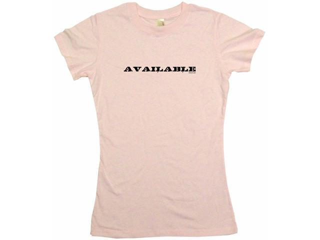 Available Women's Babydoll Petite Fit Tee Shirt