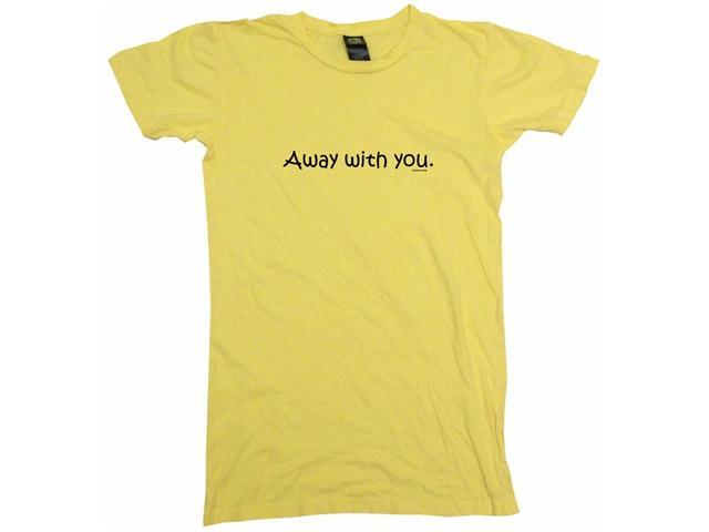 Away With You Women's Babydoll Petite Fit Tee Shirt