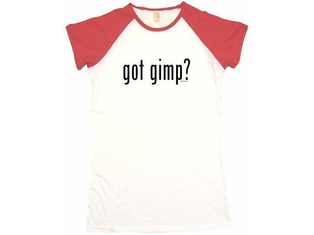 got gimp? Women's Babydoll Petite Fit Tee Shirt