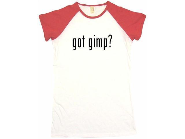 got gimp? Women's Babydoll Petite Fit Tee Shirt