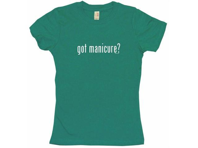 got manicure? Women's Babydoll Petite Fit Tee Shirt