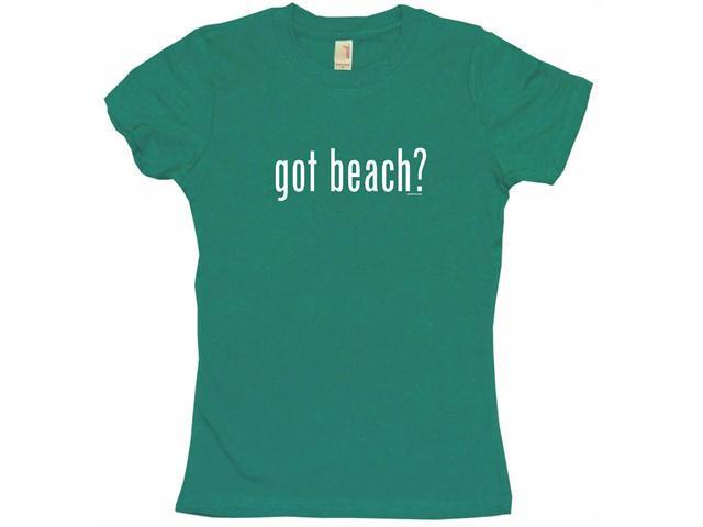 got beach? Women's Babydoll Petite Fit Tee Shirt