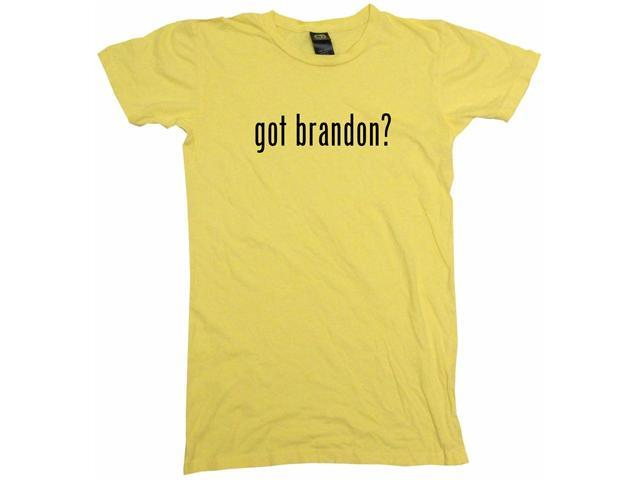 got brandon? Women's Babydoll Petite Fit Tee Shirt
