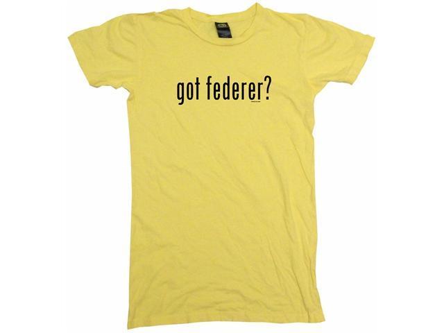 got federer? Women's Babydoll Petite Fit Tee Shirt