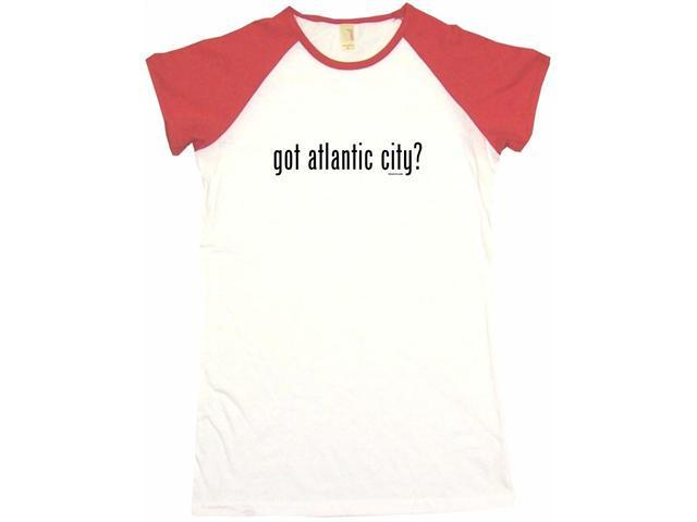 got atlantic city? Women's Babydoll Petite Fit Tee Shirt