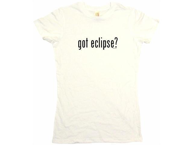 got eclipse? Women's Babydoll Petite Fit Tee Shirt