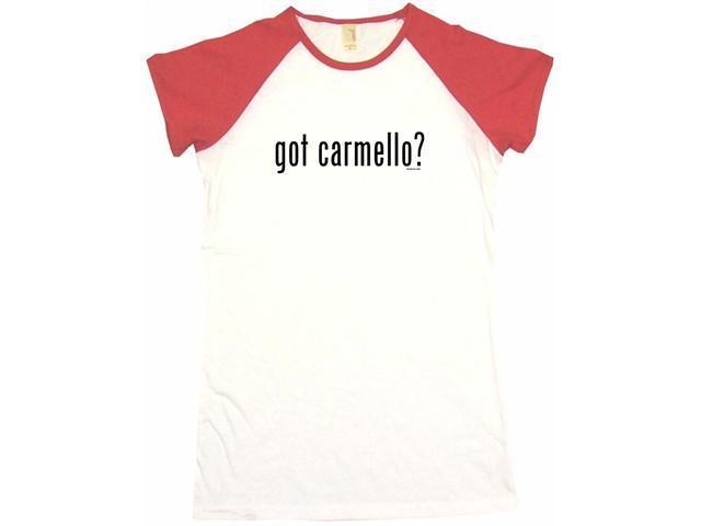 got carmello? Women's Babydoll Petite Fit Tee Shirt