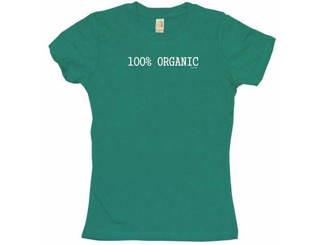 100% Organic Women's Babydoll Petite Fit Tee Shirt