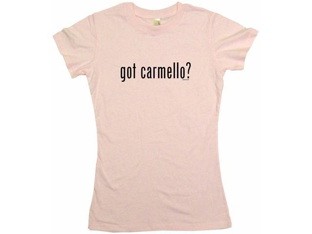 got carmello? Women's Babydoll Petite Fit Tee Shirt