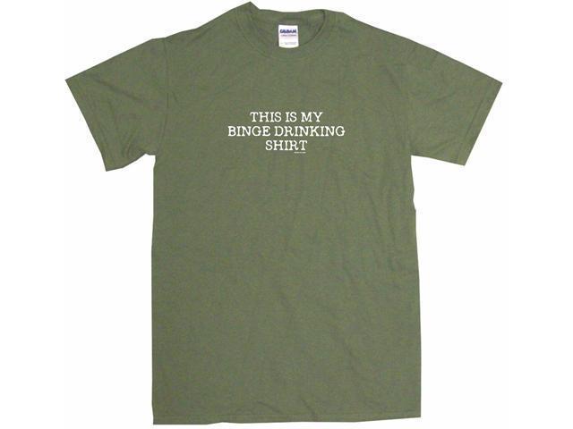 This Is My Binge Drinking Shirt Men's Short Sleeve Shirt