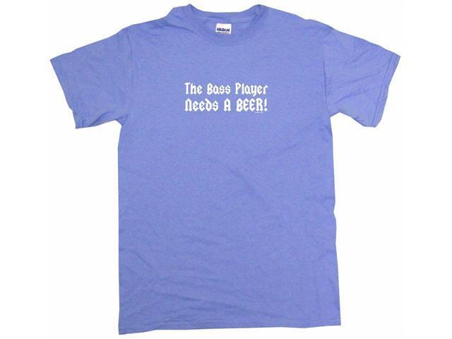 The Bass Player Needs A Beer Men's Short Sleeve Shirt