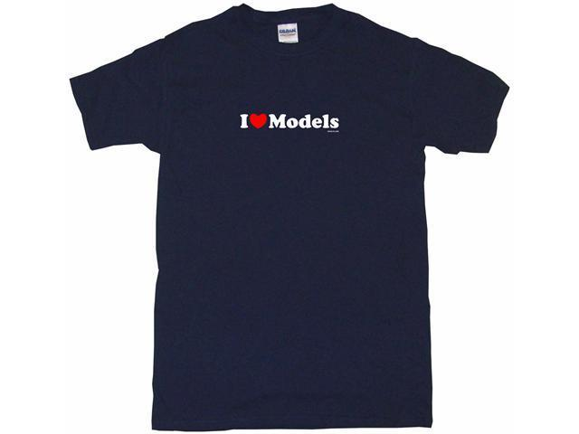 I Heart (Love) Models Men's Short Sleeve Shirt
