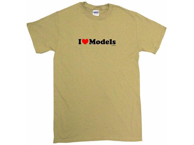 I Heart (Love) Models Men's Short Sleeve Shirt
