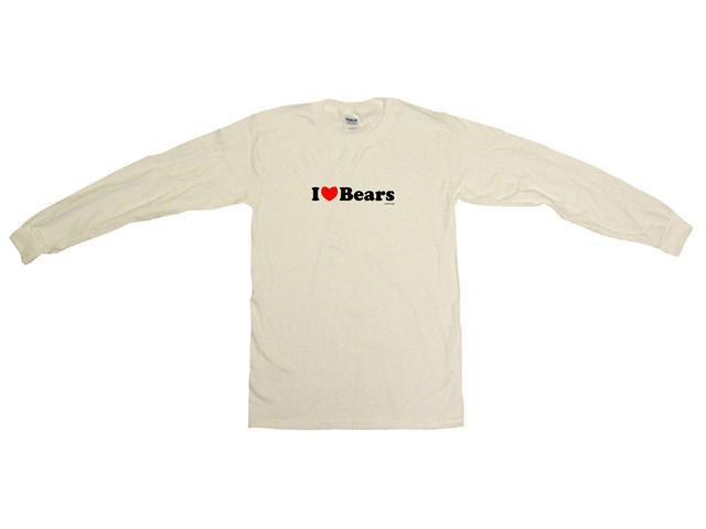 I Heart (Love) Bears Men's Sweat Shirt