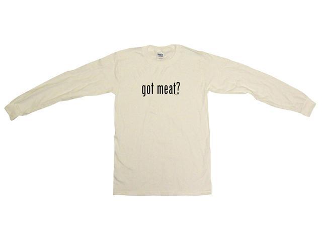 got meat? Men's Sweat Shirt