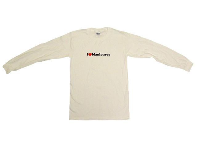 I Heart (Love) Manicures Men's Sweat Shirt