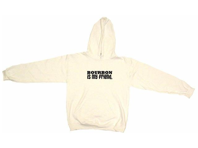 Bourbon Is My Friend Men's Hoodie Sweat Shirt
