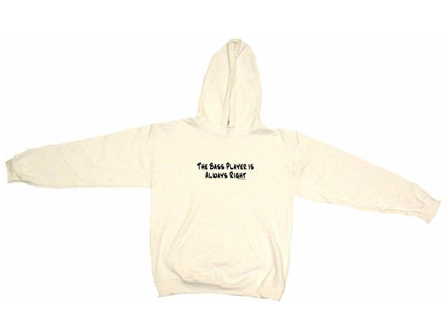 The Bass Player Is Always Right Men's Hoodie Sweat Shirt