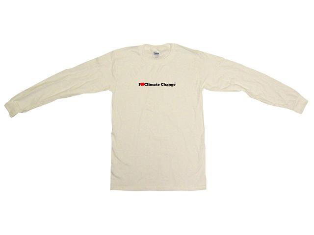 I Heart (Love) Climate Change Men's Sweat Shirt