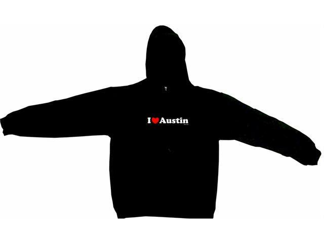 I Heart (Love) Austin Men's Hoodie Sweat Shirt