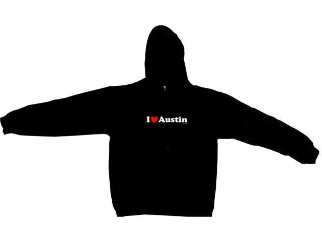 I Heart (Love) Austin Men's Hoodie Sweat Shirt