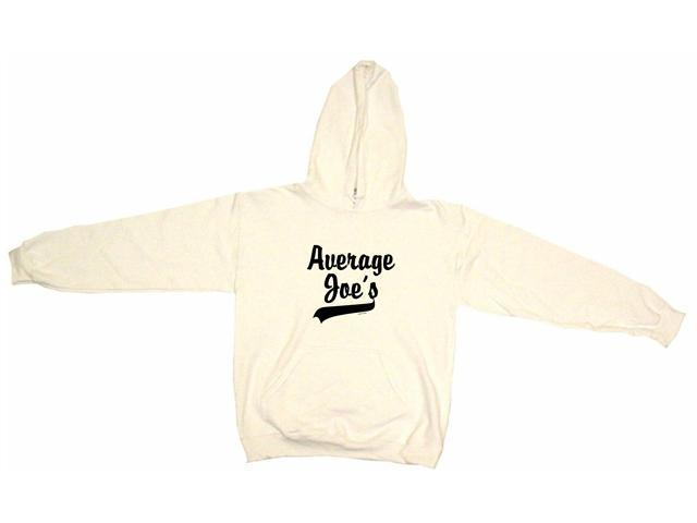 Average Joes Baseball Style Logo Men's Hoodie Sweat Shirt