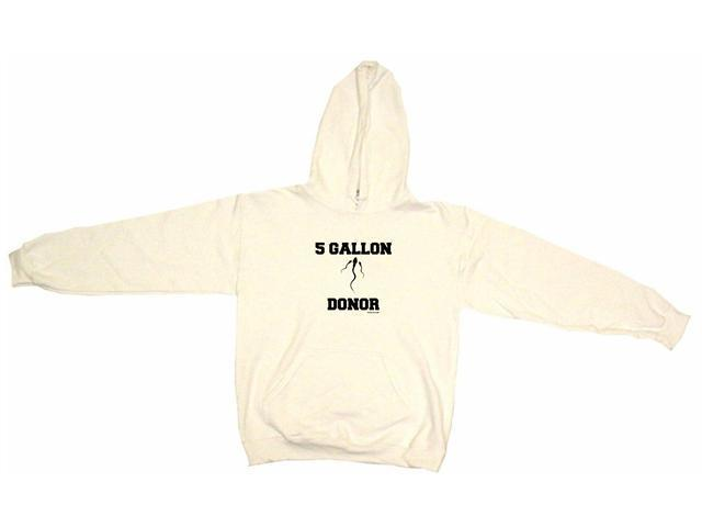 5 Gallon Sperm Donor Logo Men's Hoodie Sweat Shirt