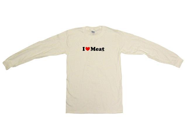 I Heart (Love) Meat Men's Sweat Shirt