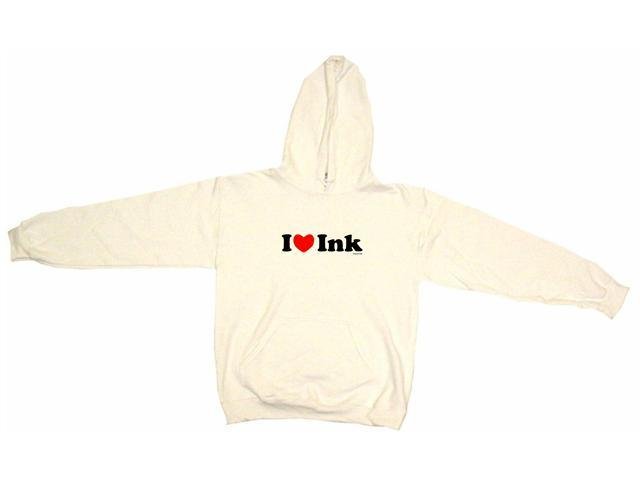 I Heart (Love) Ink Men's Hoodie Sweat Shirt