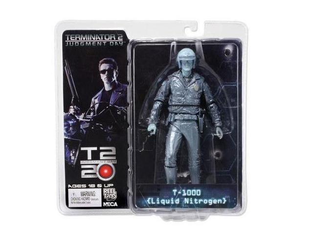 "Terminator Collection Series 3 T-1000 Liquid Nitrogen 7"" Action Figure"