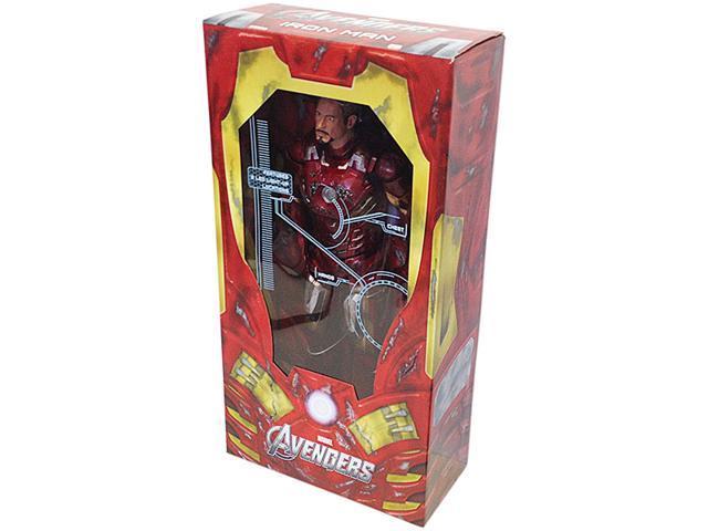 Avengers Movie Iron Man Mark VII Battle Damage Electronic Action Figure 1/4 Scale