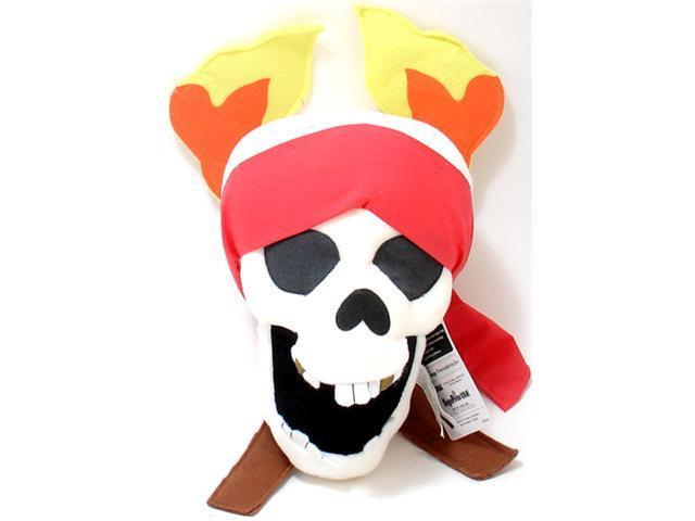 Disney: Pirates of the Caribbean Dead Man's Chest Skull 13-inch Plush