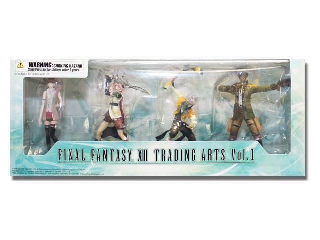 Final Fantasy XIII: Trading Arts Vol. 1 Trading Figure Set of 4