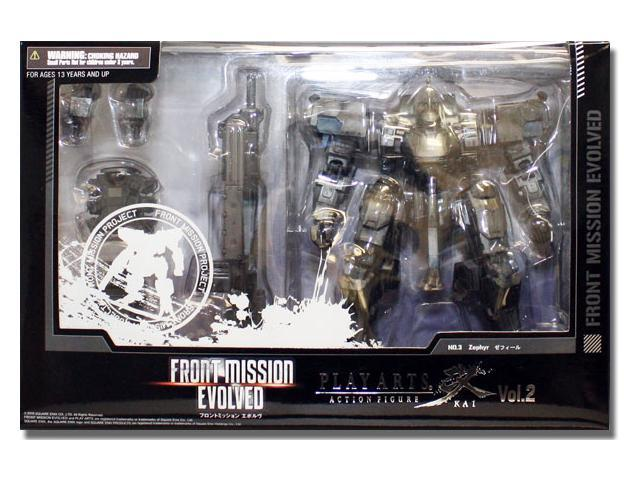 Front Mission Evolved: Zephyr Play Arts Kai Action Figure