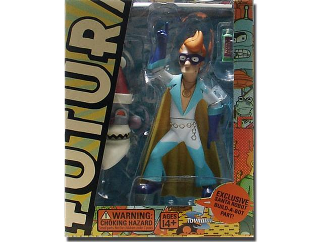 Futurama: Series 4 Fry as Captain Yesterday Action Figure