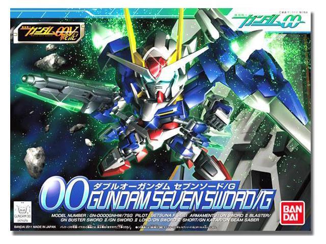Gundam BB-368 Gundam 00 Seven Sword