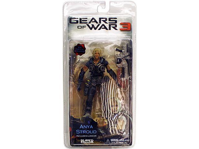 Gears of War 3: Series 1 Anya Stroud Action Figure