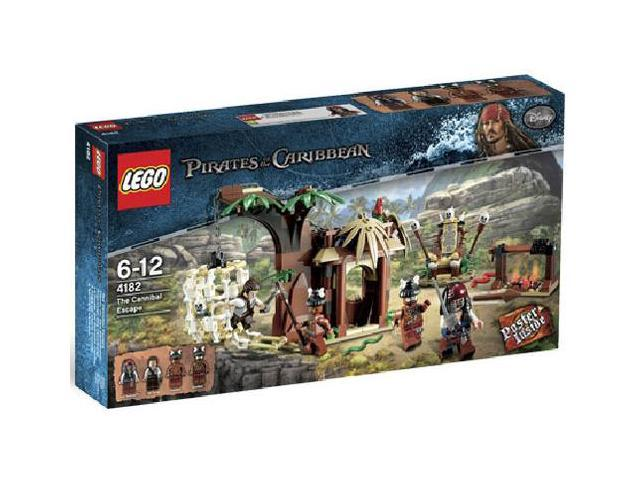 Lego Pirates of the Caribbean: The Cannibal Escape #4182