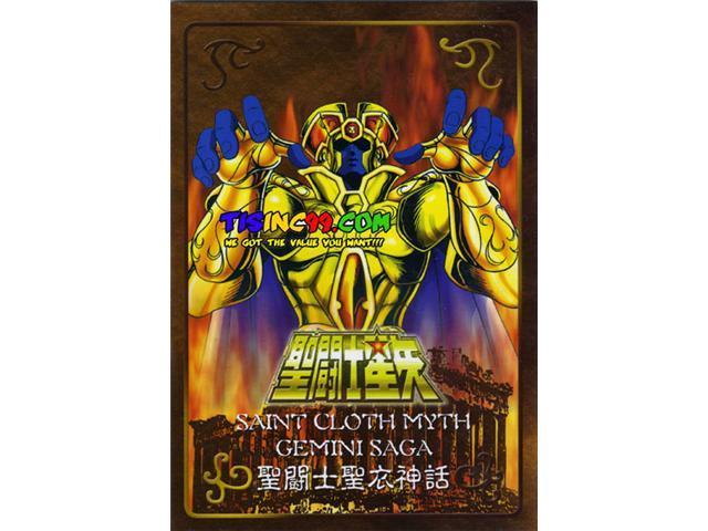 Saint Seiya Saint Cloth Myth Gold Cloth Gemini Saga Metal Place