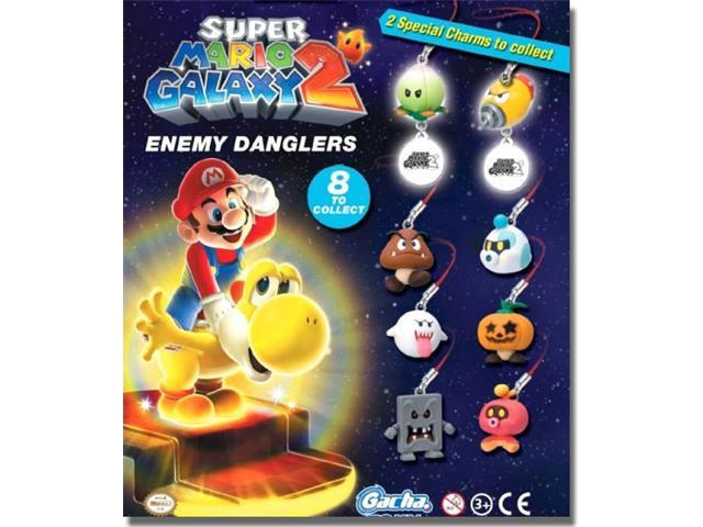 Super Mario Galaxy 2: Enemy Danglers Figures Set of 8