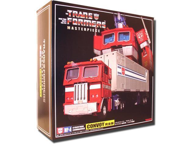 Transformers Masterpiece MP-04 Optimus Prime Convoy Complete Ver. Die-Cast Figure