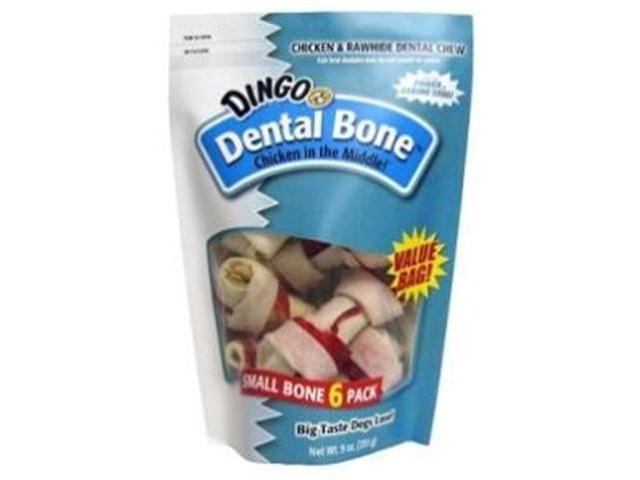 Dingo Dental 9oz Value Bag 6 pack Small