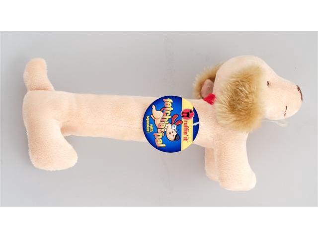 Westminster Pet 16215 Ruffin it Fetch a Pals Schnauzer Plush Dog Toy